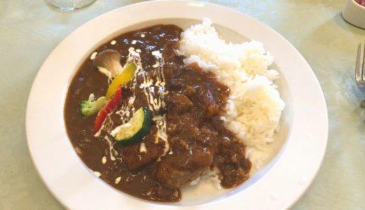 善光寺付近の「楽茶れんが館」のカレーは品のある味でオススメ!